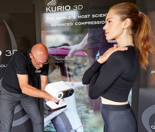 Scanning for made to measure compression wear